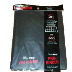 9-Pocket Black PRO-Binder