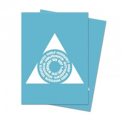 Ultra Pro Matte Deck Protector Sleeves Guild Azorius Logo