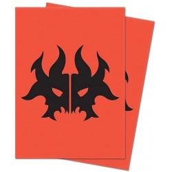 Ultra Pro Matte Deck Protector Sleeves Guild Rakdos Logo