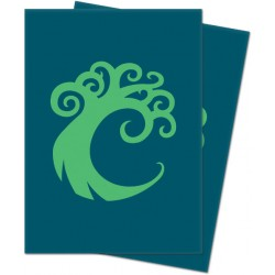 Ultra Pro Matte Deck Protector Sleeves Guild Simic Logo