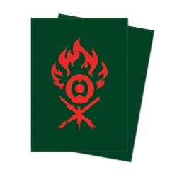 Ultra Pro Matte Deck Protector Sleeves Guild Gruul Logo