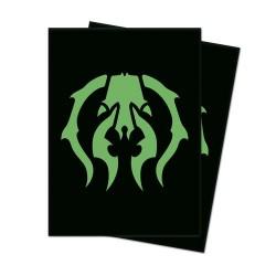 Ultra Pro Matte Deck Protector Sleeves Guild Golgari Logo
