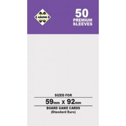 Kaissa Sleeves Premium Purple 59x92