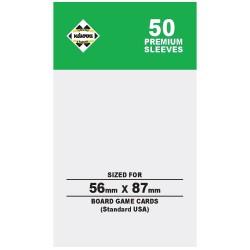 Kaissa sleeves Premium Green56x87