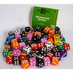 Blackfire Assorted D6 Dice 16mm