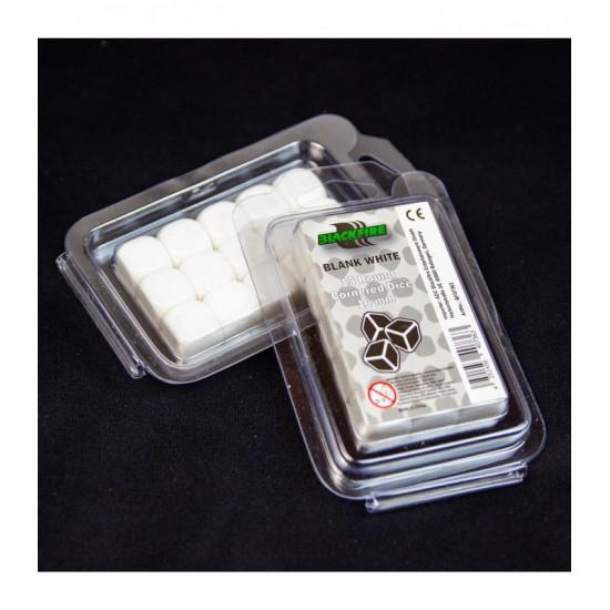 Blackfire Blank 16mm dice