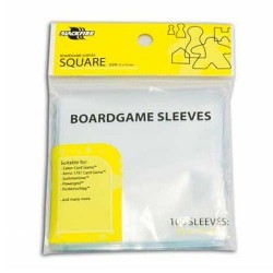 Blackfire Sleeves Boardgame Square 72x73