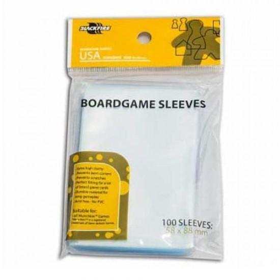 Blackfire Sleeves Boardgame USA 58x88