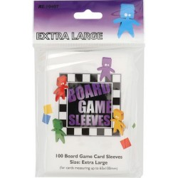 Borad Game Sleeves Extra Large 65X100 100 pcs
