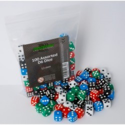 Blackfire Assorted D6 Dice 12mm