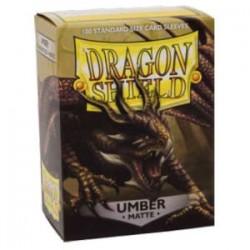 Dragon Shield - Matte Umber