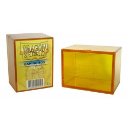 Dragon Shield Box- Yellow