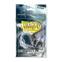 Dragon Shield- Perfect fit UP Clear(100kom) 63x88mm