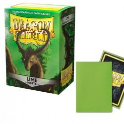 Dragon Shield - Matte Lime