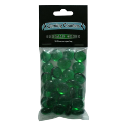 Gaming Counters - Emerald