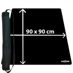Playmat Black 90x90cm with carrybag