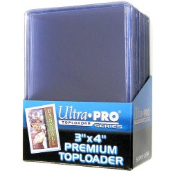 UP - Toploader - 3 x 4 Super Clear Premium