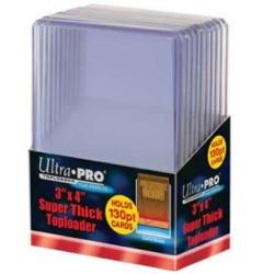 UP - Toploader - 3 x 4 Super Thick 130PT
