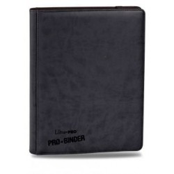 9-Pocket Premium PRO-Binder Black