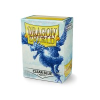 Dragon Shield Matte Clear Blue