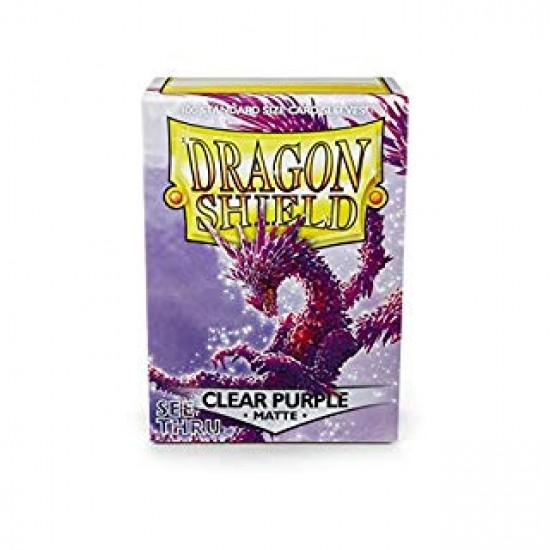 Dragon Shield -Matte Clear Purple
