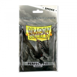 Dragon Shield- Perfect fit Smoke(100kom) 63x88mm