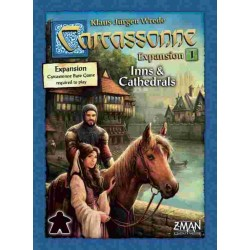 Carcassonne: Expansion 1 – Inns & Cathedrals - GR