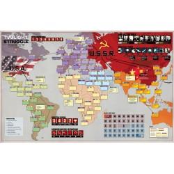 Twilight Struggle Deluxe Mounted Mapboard