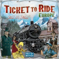 Ticket to Ride: Europe - SR