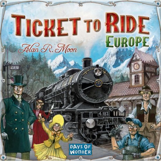 Ticket to Ride: Europe - SR