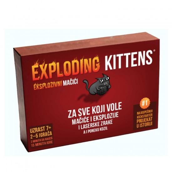 Exploding Kittens - SR - Eksplozivni Macici