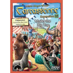 Carcassonne: Expansion 10 – Under the Big Top - GR