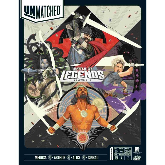 Unmatched: Battle of Legends, Volume One