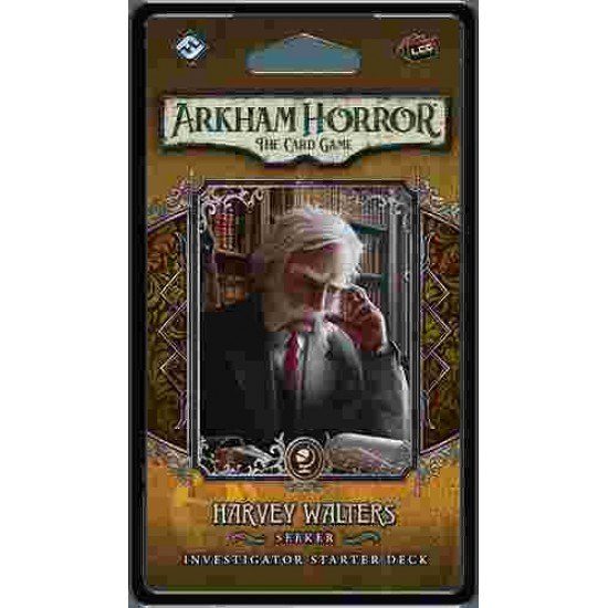 Arkham Horror: The Card Game – Harvey Walters: Investigator Starter Deck