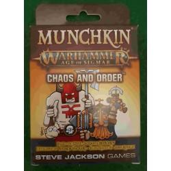 Munchkin Warhammer: Age of Sigmar – Chaos and Order