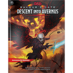 D&D Baldur's Gate: Descent into Avernus Adventure