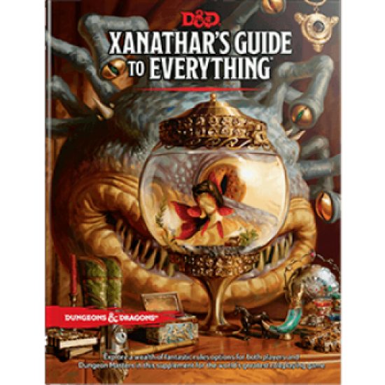 Dungeons & Dragons RPG - Xanathar's Guide to Everything
