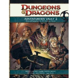 Adventurer's Vault 2: A 4th Edition D&D Supplement Hardcover