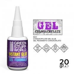 Cyanocrylate Adhesive 20gr. - GEL formula