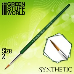 GREEN SERIES Synthetic Brush - Size 2