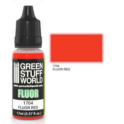 Fluor Paint RED