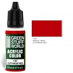 Acrylic Color CUTTHROAT RED