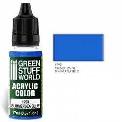 Acrylic Color SUMMERSEA BLUE