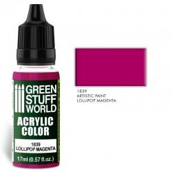 Acrylic Color LOLLIPOP MAGENTA