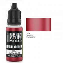 Metallic Paint CAESAR RED
