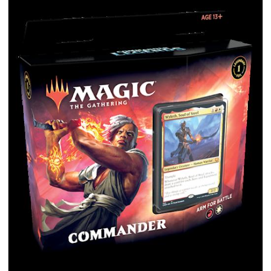 Commander Legends Commander Decks - ARM FOR BATTLE