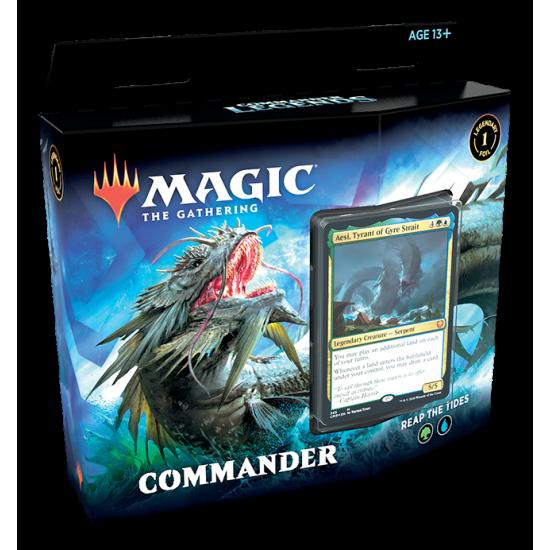 Commander Legends Commander Decks - REAP THE TIDES