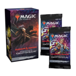 Forgotten Realms Prerelease Pack + 2 Draft Booster Pack