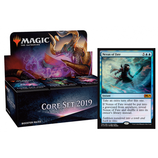 Core Set 2019 Booster Box + Promo Card