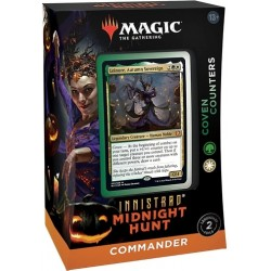 Innistrad: Midnight Hunt Commander Decks - Coven Counters